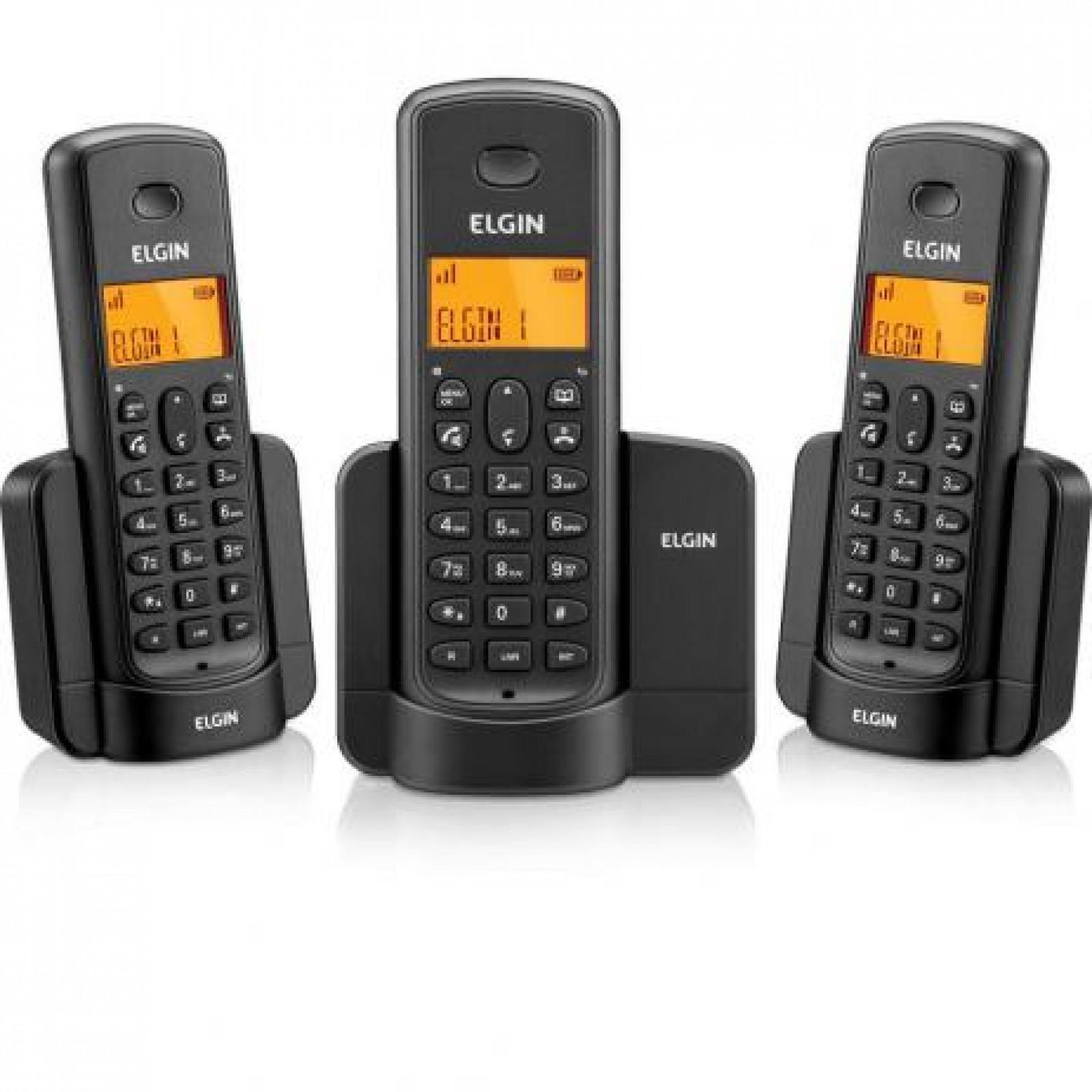 TEL MODELO TSF 8003 SEM FIO C 2 RAMAIS