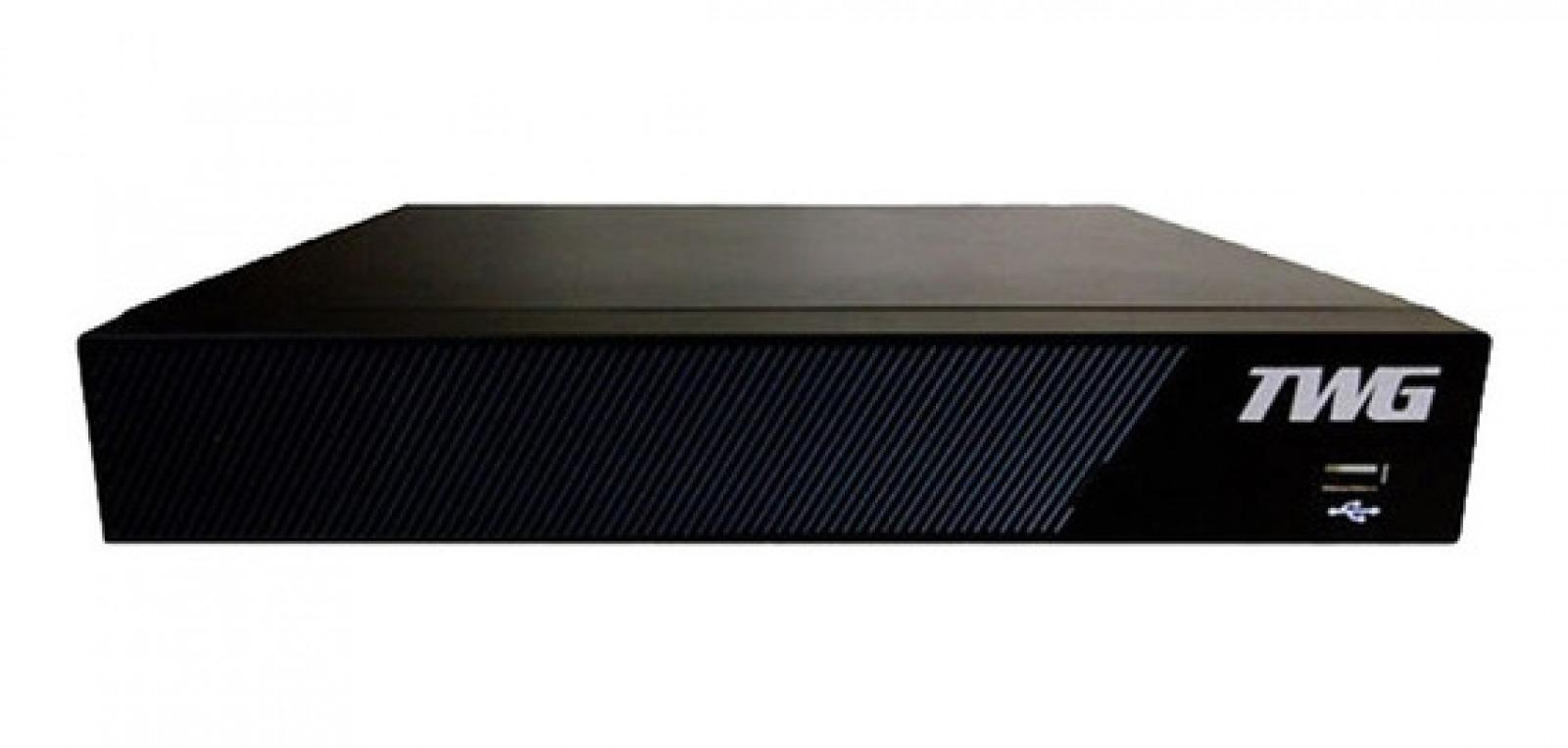 DVR 8 CANAIS TWG 6X1 5MP DETECT