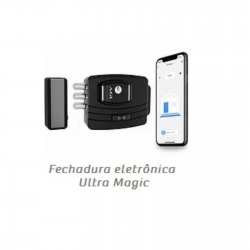 FECHADURA ELETRONICA ULTRA MAGIC CARD AGL